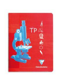 Cahier TP 24x32 cm, 64p (32 séyès + 32 dessin)