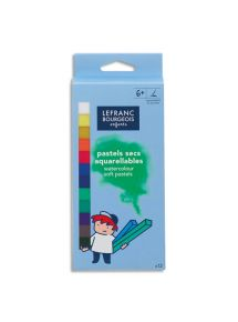 Boîte de 12 pastels tendres, coloris assortis