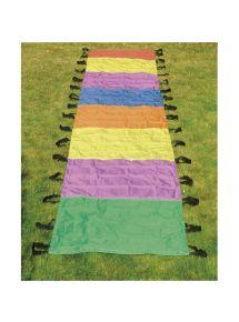 Parachute chenille en polyester multicolore