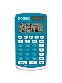 Calculatrice Texas Instrument TI 106