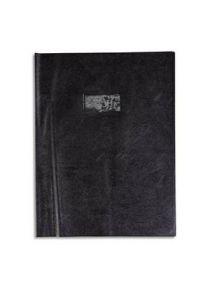 Protège-cahier 17x22 cm, plastique très épais, noir