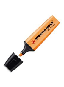 Surligneur Stabilo Boss Original, pointe biseautée, orange