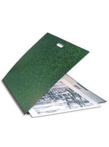 Carton à dessin à élastiques avec poignée de transport format 59x72 cm