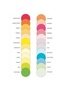 Papier fluo couleurs assorties (125x4 couleurs) Adagio, 80g A4, ramette de 500 feuilles