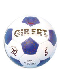 Ballon de football en cuir synthétique, taille 5