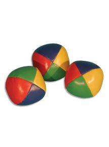 Lot de 12 balles à grains de jonglage