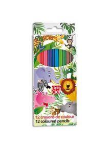 Pochette de 12 crayons de couleur