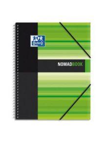 Cahier Nomad Book 24x30 cm, 180p, grand carreaux