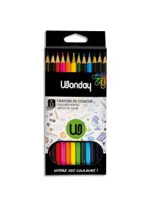 Pochette de 12 crayons de couleurs