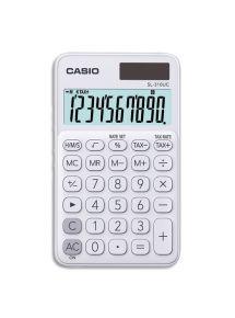 Calculatrice de poche Casio 10 chiffres blanche