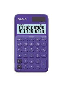 Calculatrice de poche Casio 10 chiffres violette