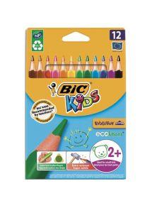 Etui de 12 crayons de couleur Evolution Triangle