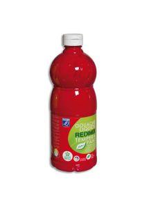 Gouache Color & Co, flacon de 1l, rouge primaire