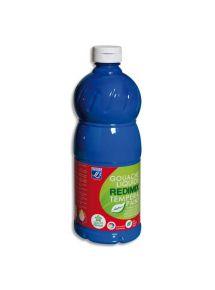 Gouache Color & Co, flacon de 1l, bleu primaire