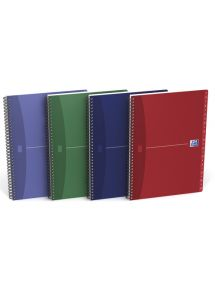 Répertoire couverture carte 21x29,7 cm, 180p, ligné 7mm, spirale, 90g