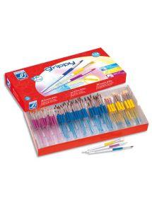 Schoolpack de 144 pinceaux Grippy, assortis