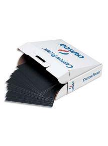 Carton plume noir, 50x65 cm épaisseur 5mm