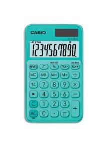 Calculatrice de poche Casio 10 chiffres verte