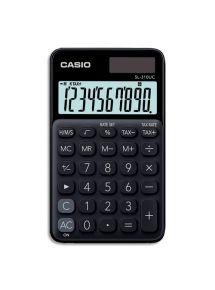 Calculatrice de poche Casio 10 chiffres noire