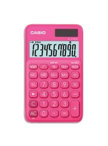 Calculatrice de poche Casio 10 chiffres rose