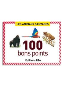 Boîte de 100 images les animaux sauvages