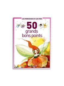 Boîte de 50 grandes images - Princesses et fées