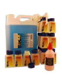 Bidon de 5 litres de colle bleue Océane + 24 flacons