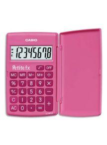 Calculatrice Casion Petite FX rose