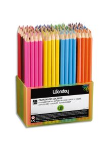 Schoolpack de 144 crayons de couleur