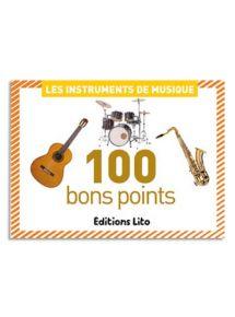 Boîte de 100 images les instruments de musique