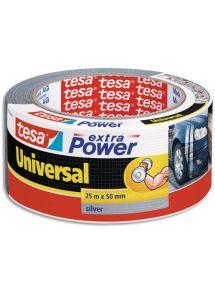 Adhésif renforcé Extra Power 50mmx25m, coloris gris