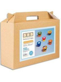 Kit de 12 supports pour bougies chauffe-plat à décorer