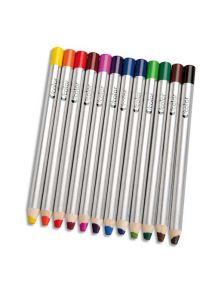Boîte 12 crayons de couleur O'color, gros module