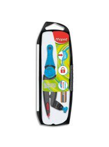 Compas à bague Stop & Safe à pointe sèche auto-rétractable